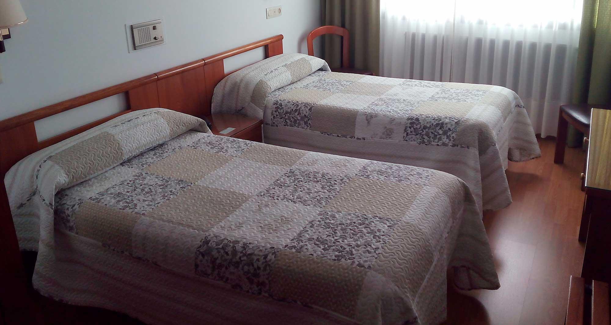 Hostal Palas, habitación doble